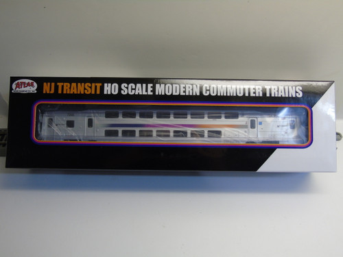 Atlas 20004809 NJ Transit Multi-Level Trailer with Toilet #7200 (HO Scale) 150-20004809