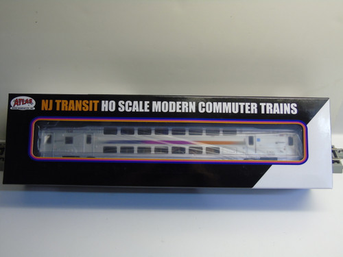 Atlas 20004811 NJ Transit Multi-Level Trailer with Toilet #7222 (HO Scale) 150-20004811
