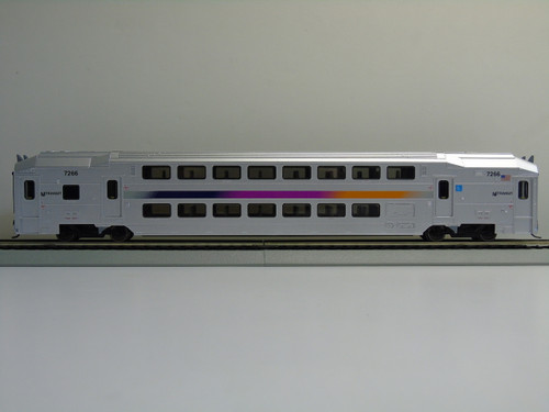 Atlas 20004812 NJ Transit Multi-Level Trailer with Toilet #7266 (HO Scale) 150-20004812