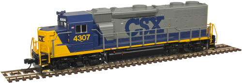 "ATLAS 40003851 GP39-2 CSX ""YN2"" #4307 - LokSound & DCC - Master(R) Gold (SCALE=N) Part # 150-40003851"