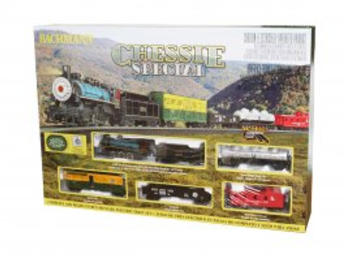 750 Bachmann /  Chessie Special DC Train set Scale = HO Part # = 160-750