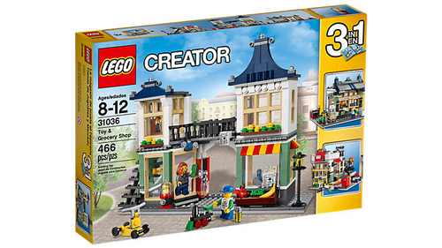 31036 Lego Creator Toy and Grocery Shop, 3-in-1 Building Toy Set
