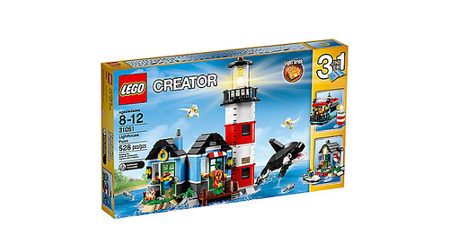 31051 Lego Creator Lighthouse Point, 3-in-1 Building Toy Set