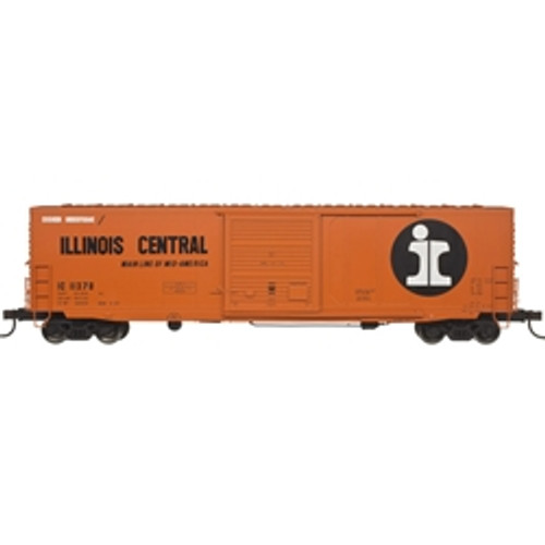 """20004754 Atlas IC Illinois Central #11378 50' 6"""" Boxcar (HO Scale) Part # 150-20004754"""