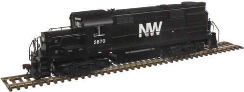 10002667 Atlas  RS-36 NW Norfolk & Western #2872 w/LokSound & DCC - Gold (SCALE=HO) 150-10002667