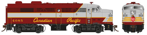 21522 Rapido FA-2 CP - Canadian Pacific #4085 w/LokSound & DCC (SCALE=HO) 606-21522