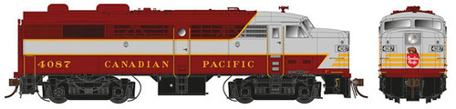 21516 Rapido FA-2 CP - Canadian Pacific #4087 w/LokSound & DCC (SCALE=HO) 606-21516