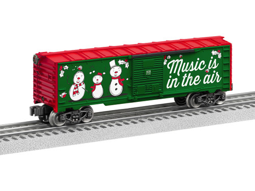 6-84748 Lionel /  Christmas Music Boxcar - #18 (Scale=O) 434-684748
