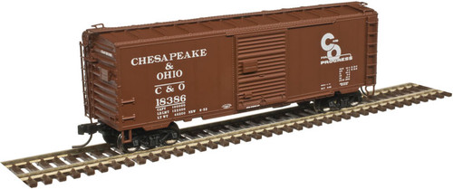 ATLAS 50003967 40' PS-1 Box Car C&O Chesapeake & Ohio #18386 (SCALE=N) Part # 150-50003967
