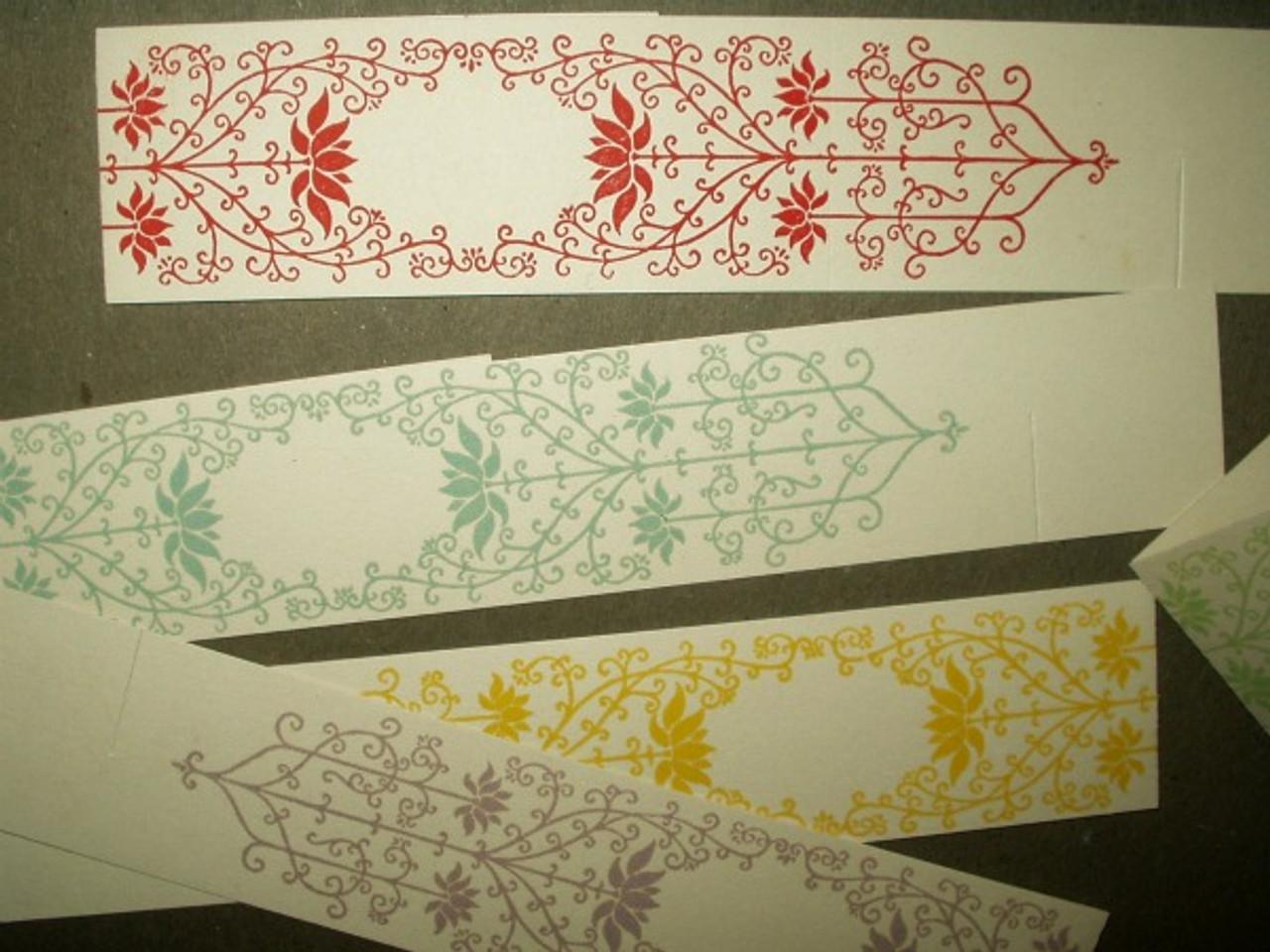 Edwardian 1920 Ephemera Paper Place Cards Napkin Rings Unused Package