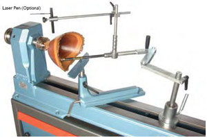 Vicmarc V00475 Hollowing Tool Support System at Woodworker