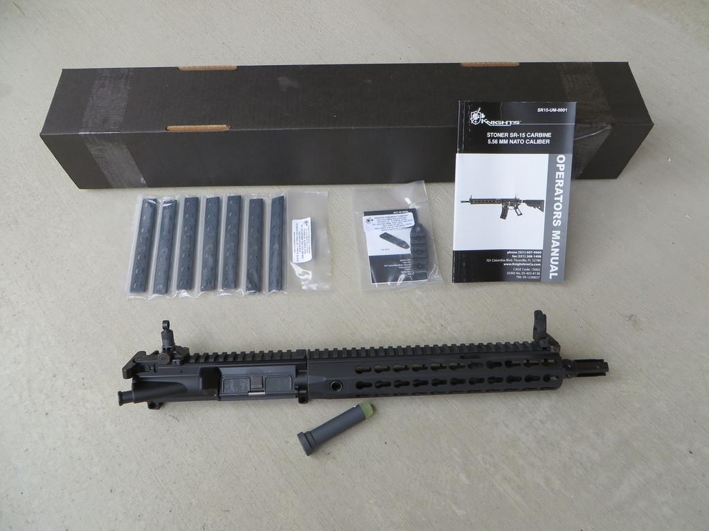 """KAC 11.5"""" SR-15 E3 CQB MOD 2 Complete Upper - 5.56mm (NFA Rules Apply)"""