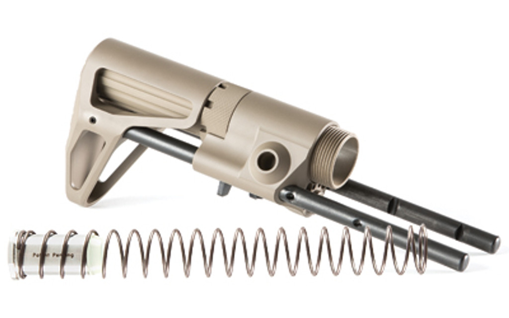 Maxim Defense CQB Stock For AR15 - H2 Buffer & Spring