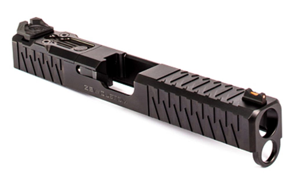 ZEV Z17 Enhanced SOCOM Slide Gen 4 Glock 17 w/ DeltaPoint Pro Cutout and Adapter Plate - Black