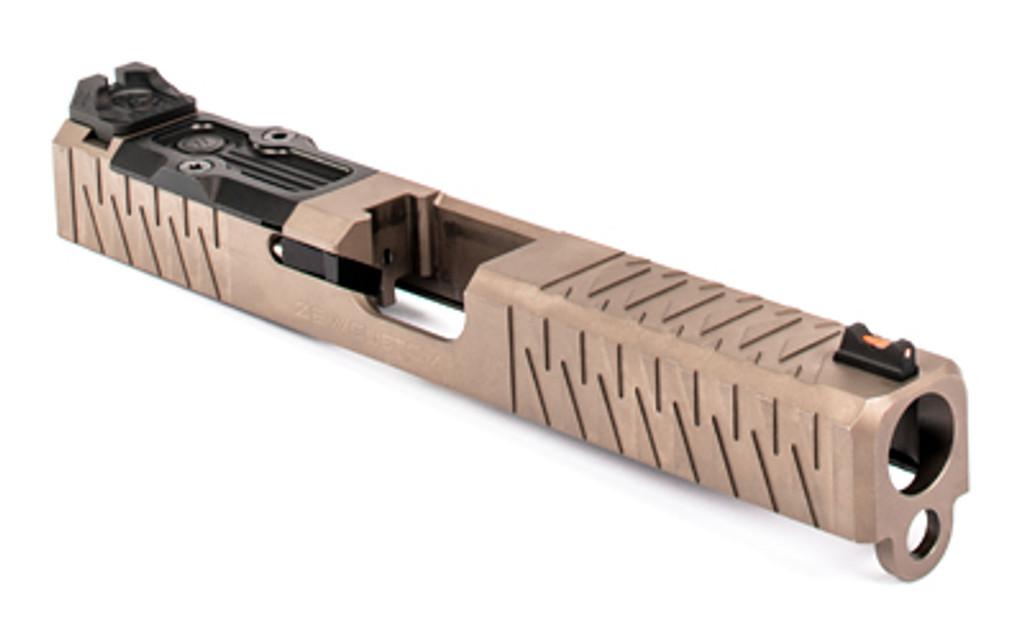 ZEV Z17 Enhanced SOCOM Slide Gen 3 Glock 17 w/ RMR Cutout and Adapter Plate - FDE