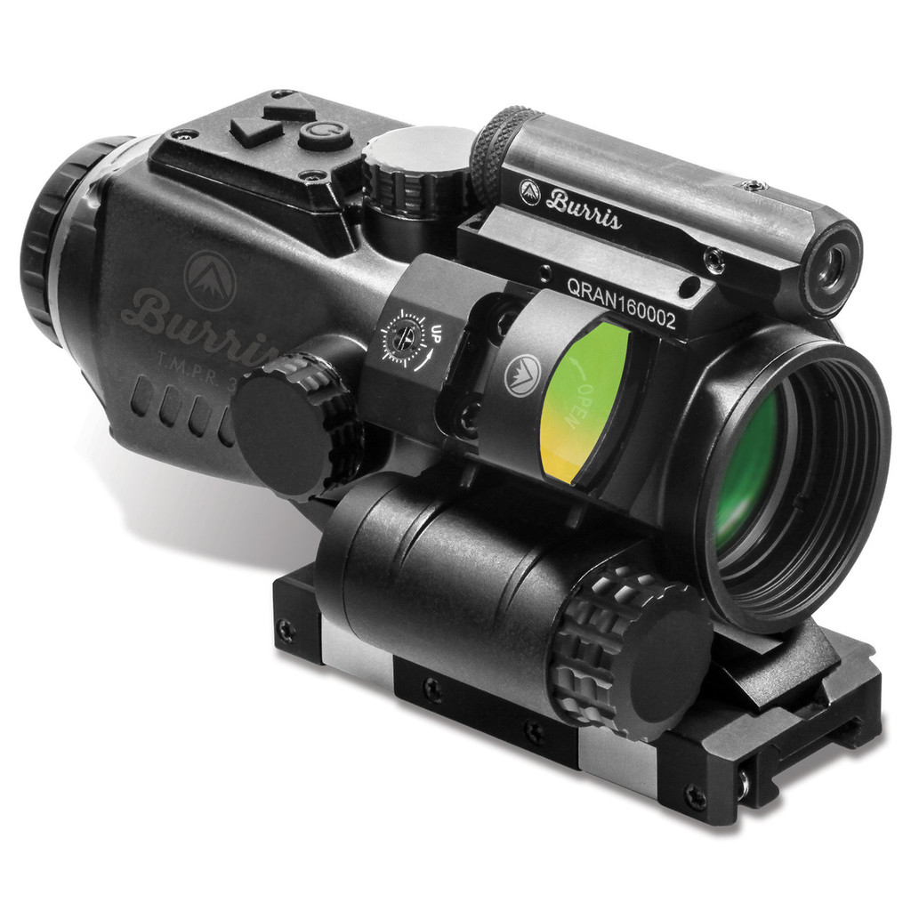 Burris T.M.P.R. 3 Prism Sight 3x32 w/ FastFire M3 And Red Laser