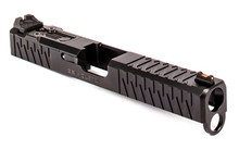 ZEV Z17 Enhanced SOCOM Slide Gen 4 Glock 17 w/ DeltaPoint Pro Cutout and Adapter Plate - Black