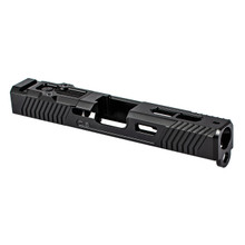 ZEV EXO Stripped Slide For Glock 19 Gen3, RMR Cut w/Cover - Black