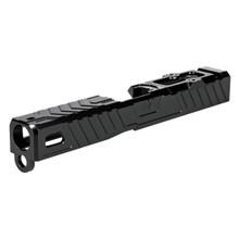ZEV Stripped Raven Slide For Glock 19 G3 RMR - DLC Black