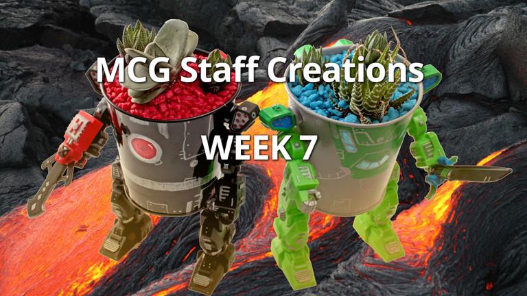 Employee Succulent Creations at Mountain Crest Gardens, Week 7
