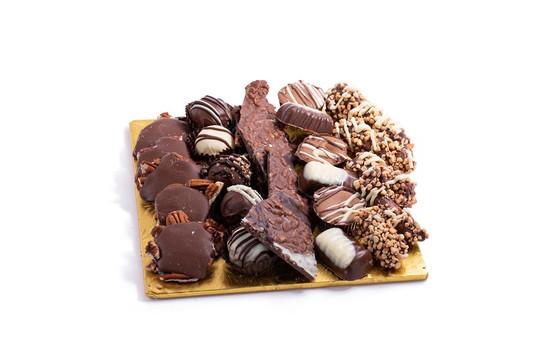 """Milk Chocolate Platter-10"""" Square"""