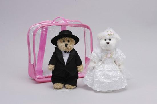 Teddy Bears - Bride And Groom