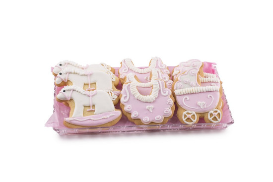 Royal Icing Cookies Pink