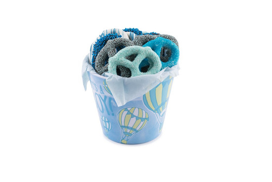 Chocolate Covered Pretzels Blue- 12 Piece