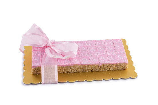 Peanut Chew Platter  Pink -30 Piece