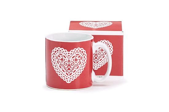 Mug- Lace Heart