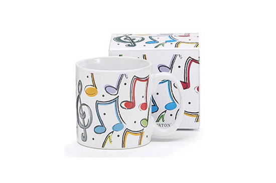 Mug- Music Notes