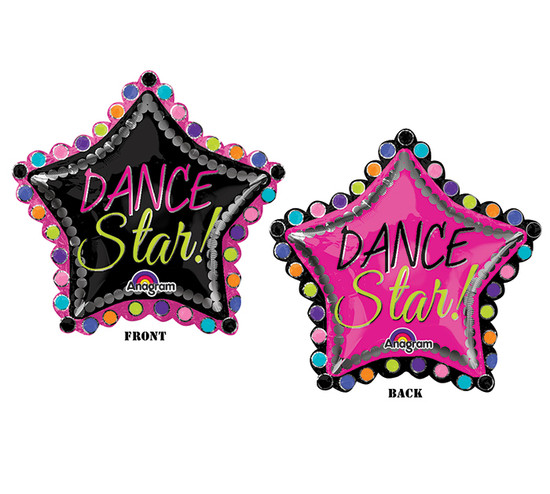 Dance Star Balloon- Extra Large