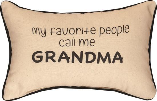 Pillow Grandma
