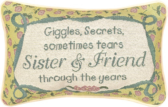 Pillow Sister Giggles And Secrets