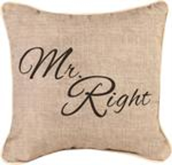 Pillow Mr. Right