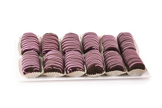Chocolate Covered Yodel Platter-Pink-12 Piece