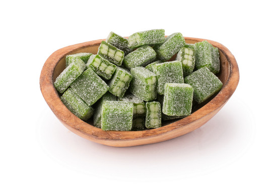 Green Apple Cubes