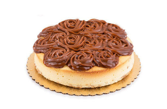 "Caramel Roses Cheesecake-9"""
