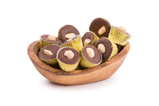 Chocolate Hazelnut Cupped Truffle