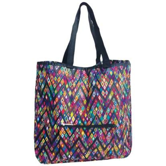 Diamond Geometric  Tote Weekender