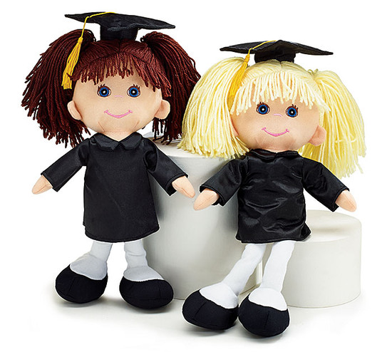 Graduation Doll- Blonde or Brunette