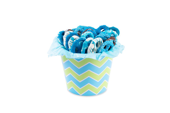 Chocolate Covered Pretels-Blue-Large