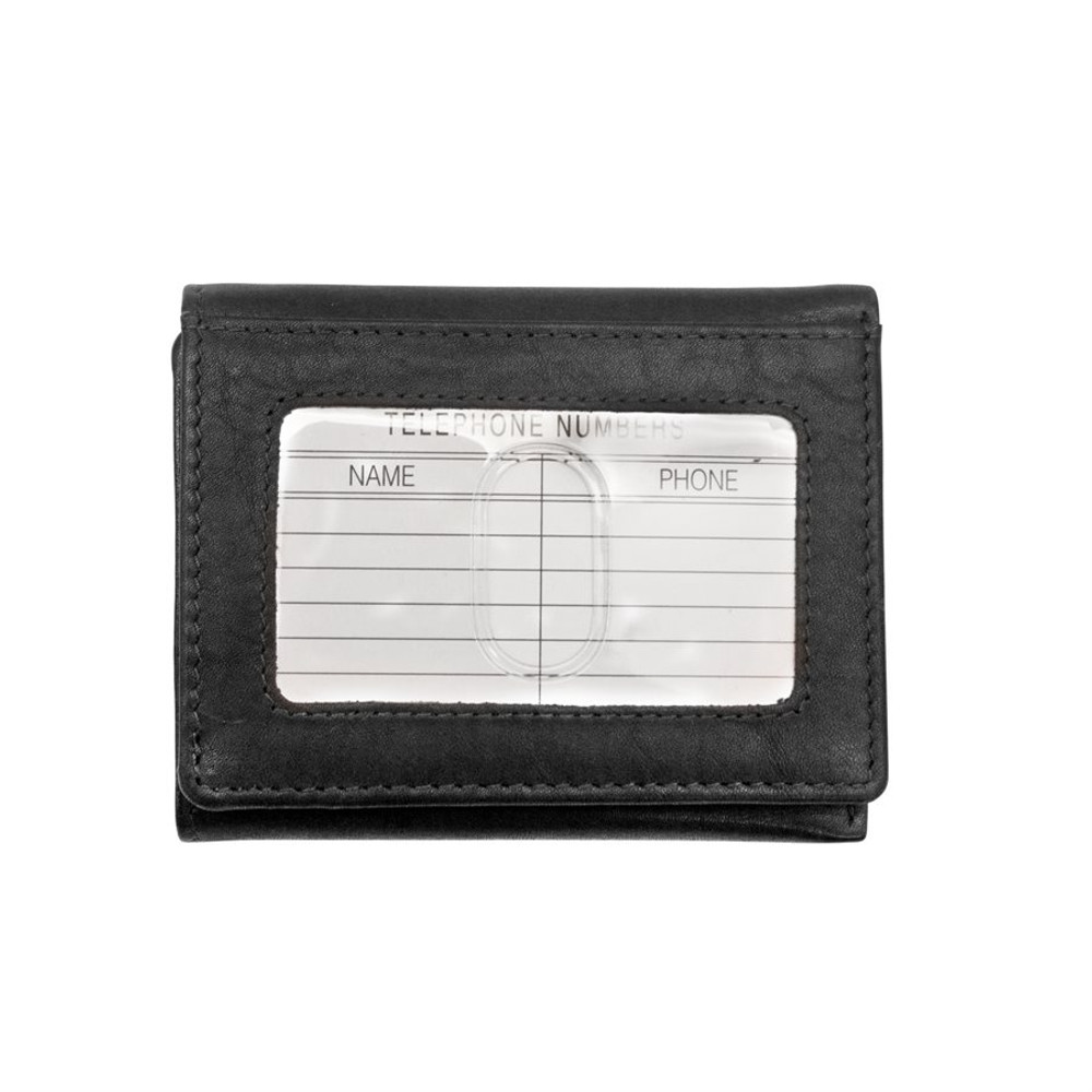 Trifold leather wallet 7130
