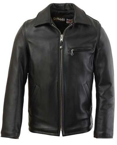 Casual Weekend Pebbled Cowhide Leather Jacket