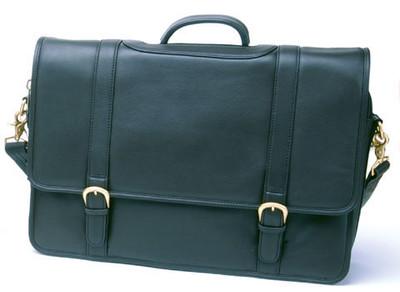 6113 Men Leather Briefcase