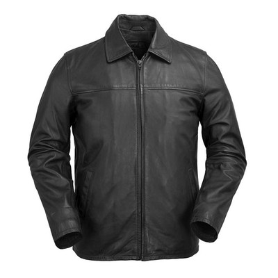 Men classic Leather open buttom Indiana