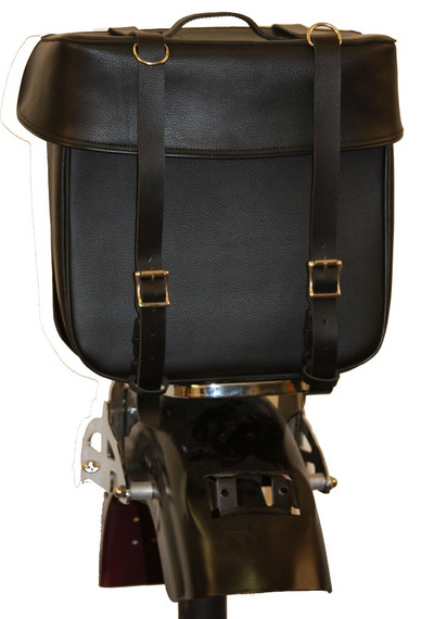 LEATHER SISSY BAR BAG FBA8100 CLEARANCE!