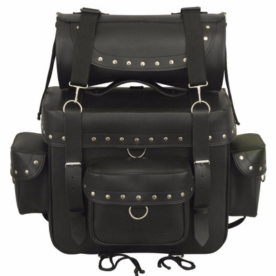 Leather Sissy BarTouring Bag 8005