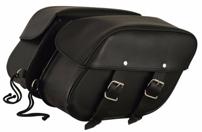 Leather Mountable Saddle Bag 8009