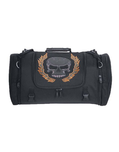 Nylon Touring Luggage skull